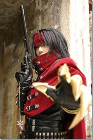 Impressive Final Fantasy VII Vincent Valentine Cosplay