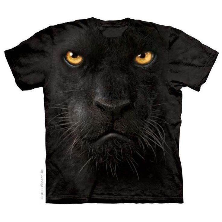 Картинка пантера на футболку