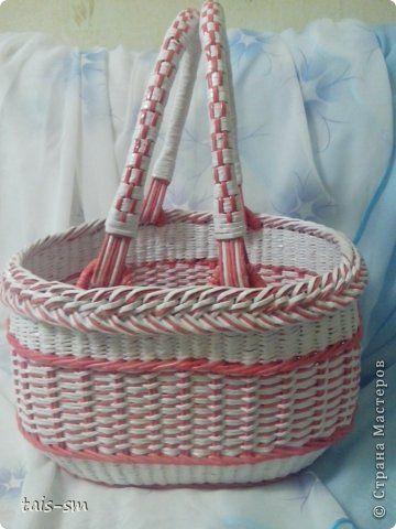 Поделка изделие Свадьба Плетение Ах эта свадьба Трубочки бумажные фото 8