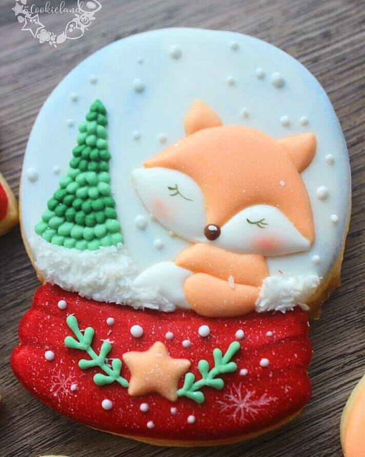 Christmas Foxie Which Is Your Fav Christmas Winter Related Animal