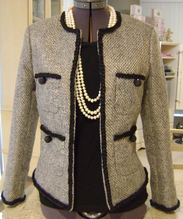 244 Best Images About Chanel Jacket Journey On Pinterest