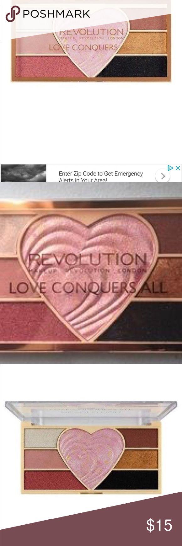 Makeup Revolution Palette Pigment Highlighter Makeup
