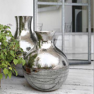 117 besten Silber Highlights Bilder auf Pinterest Kerzenhalter - grose vasen fur wohnzimmer