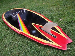 Retro Egg Single Fin Surfboard | Details about SURFBOARD VINTAGE 70'S HOT BUTTERED SINGLE FIN WITH ...