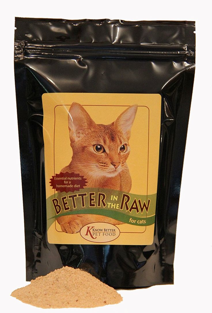 Better in the Raw for Cats Make your own homemade RAW