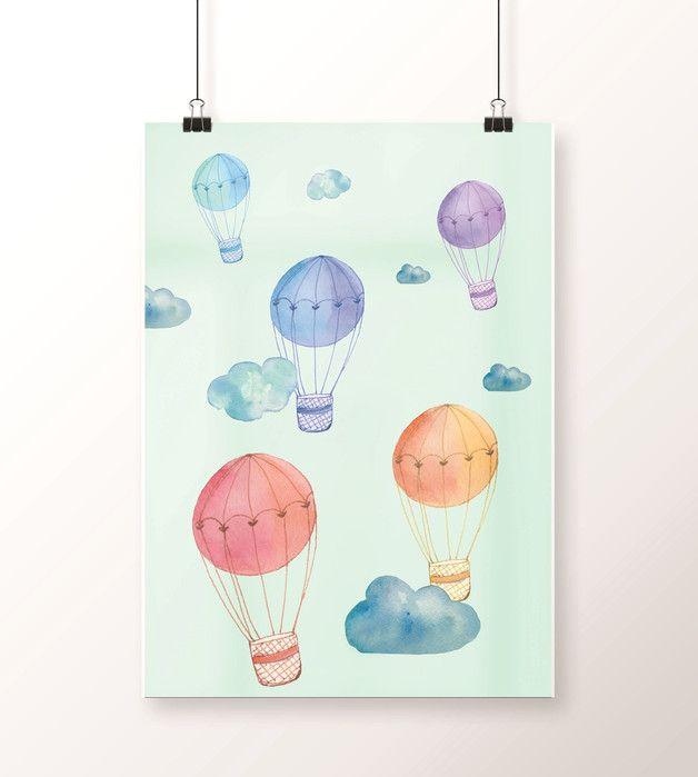Plakat / BALONIKI A3 kolorowe