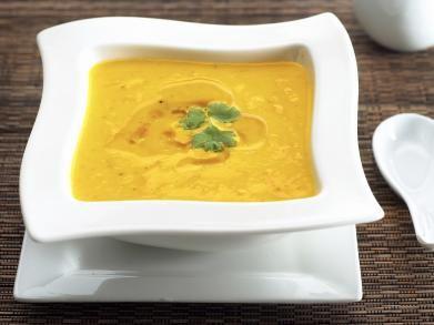 potage carottes agrumes gingembre
