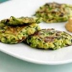 Courgette Fritters – Vegetarian