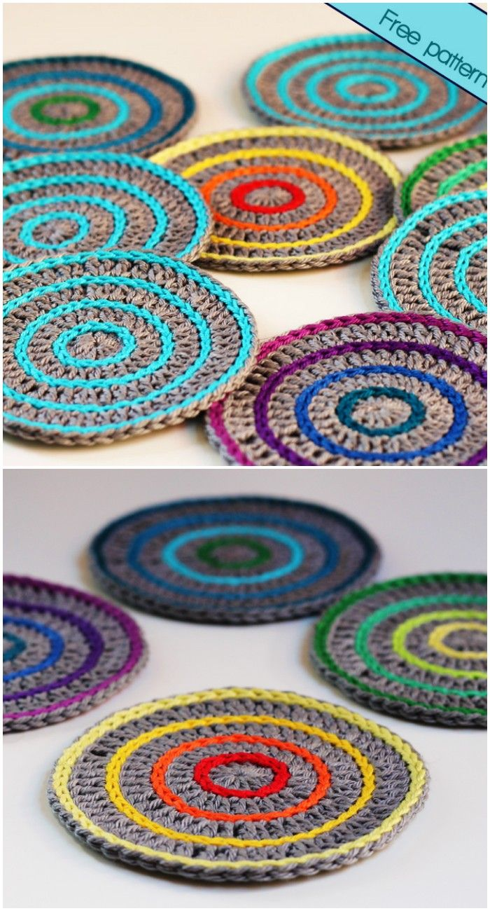 Free Crochet Coaster Patterns For Your Home Free Crochet Patterns