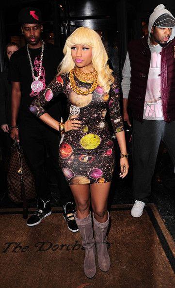 The beautiful Nicki Minaj