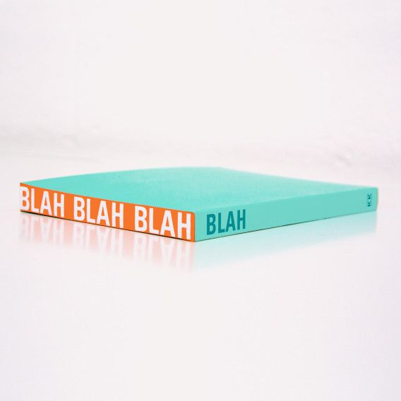 Knock Knock Blah notebooks are lined journals
