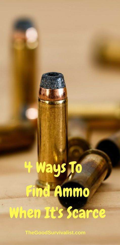 Recently, guns and ammo have been difficult to find. Due to the recent threats of gun and ammo bans, people are scrambling to get them before an actual ban takes place. http://www.thegoodsurvivalist.com/4-ways-to-find-ammo-when-its-scarce/