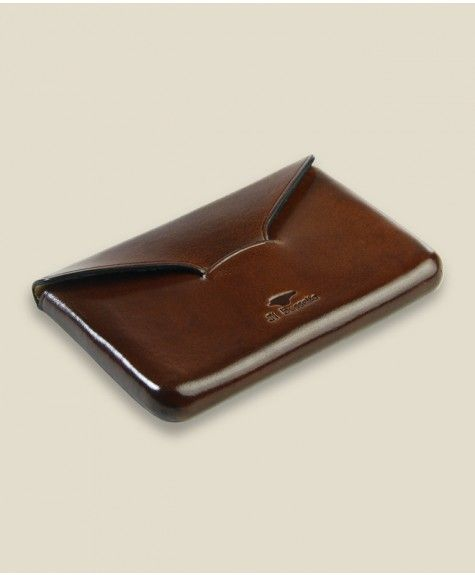Il Bussetto - Business Card Holder - Dark Brown