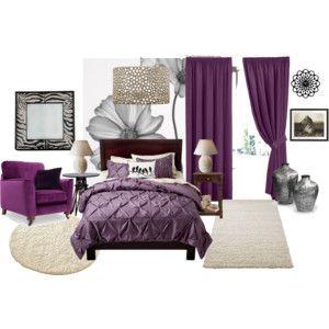 Eggplant Bedroom