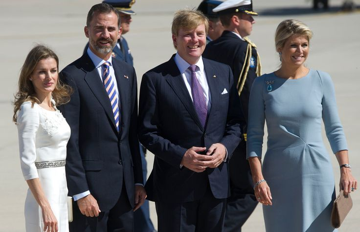 Royal friends reunite: King Willem-Alexander and Queen Maxima and Crown Prince Felipe and Princess Letezia - hellomagazine.com