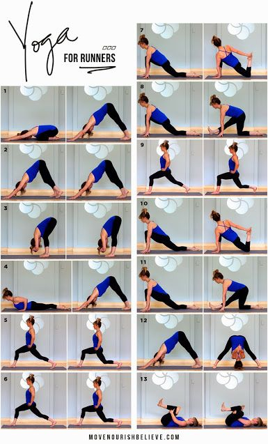 Yoga for Runners Routine