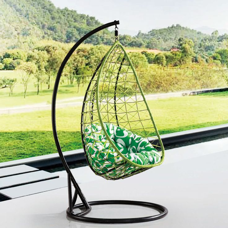 Basket rattan rocking chair swing adult outdoor wicker chairs hanging