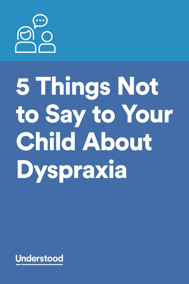 Tips for Teaching the Child with Dyspraxia or DCD