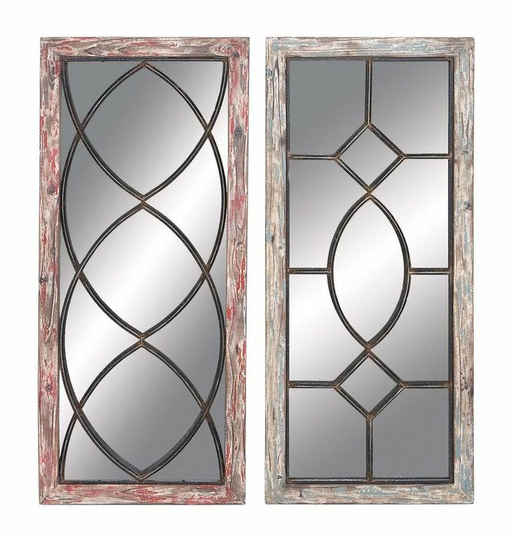 2 Piece Mirror Wall Décor Set