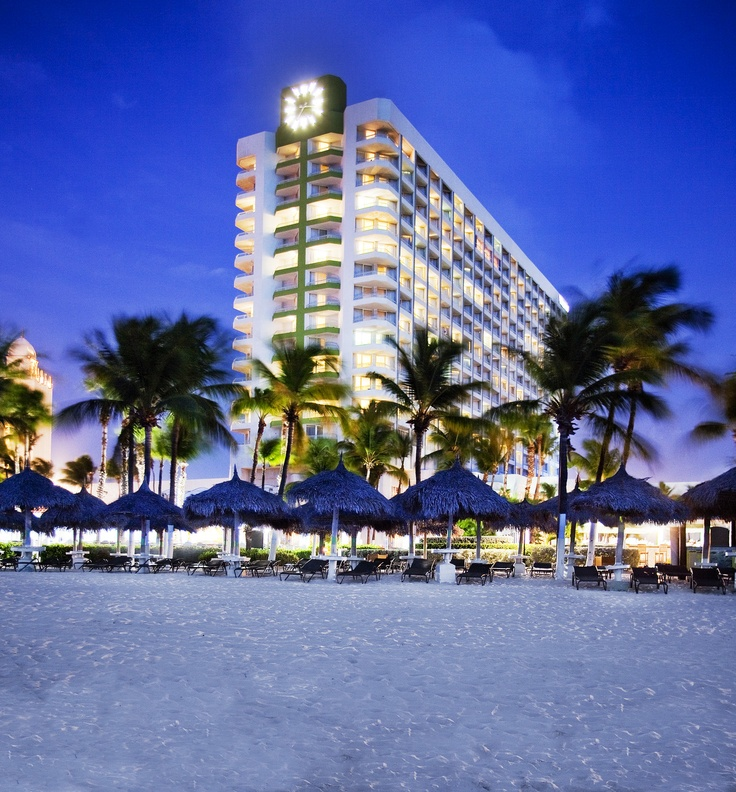 The Westin Resort & Casino, Aruba - Located on the beautiful strip of Palm Beach, amidst sparkling blue water and soft sand beaches, The Westin Aruba features the most ocean view rooms in Palm Beach.