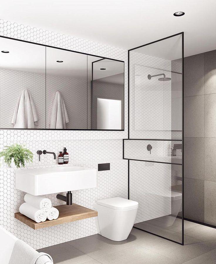 B A T H R O O M G O A L S ❕This stunning space by @tomrobertsonarchitects set the precedence for our bathroom inspiration. What a space _____________________________________________________________ #bathroom #bathroominspo #ensuite #ensuiteinspo #bathroomgoals #scandibathroom #greytiles #scandinavian #ourhome #homeinspo #scandi #homedecore #australianinteriors #interiordesignblogger #homewares #interior #scandistyle #scandinaviandesign #decore #homeinspo #interiorinspo #interiorlove...