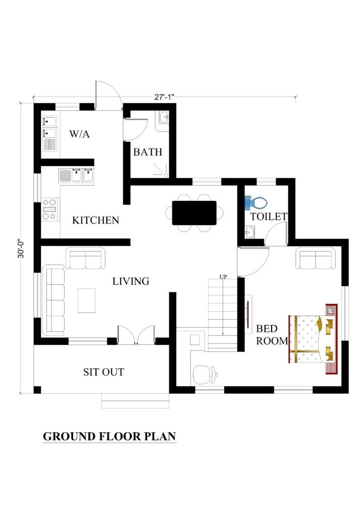 27x30 House Plans For Your Dream House House Plans House Plans Small House Plans Duplex House Plans
