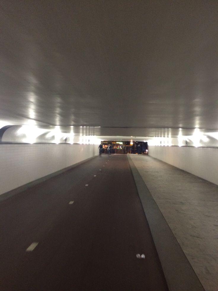 Central station Bike Tunnel