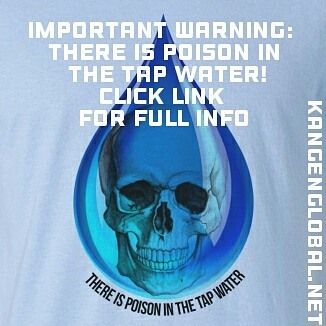 From the research in this video it is plain to see that tap water is contaminated with lead aluminium fluoride and chlorine together with other poisons  all of which are extremely harmful to us and above all carcinogenic! Click link below for full research and video. http://Kangenglobal.net Change your water   change your life!  #sewageinthetapwater #kangenwaterspain  #enagicspain  #healthywealthy  #healthywater  #twitter  #dangerinthewater