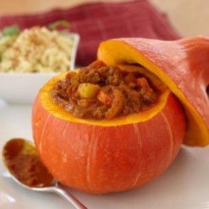 Spiced Pumpkin and Lamb Tagine