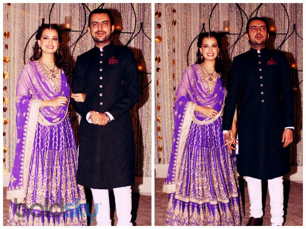 Bridal Diaries: Dia Mirza's Sangeet Ceremony