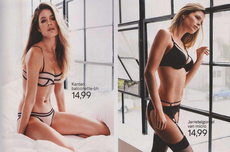 Doutzen Kroes: H&M Lingerie Catalog 2015