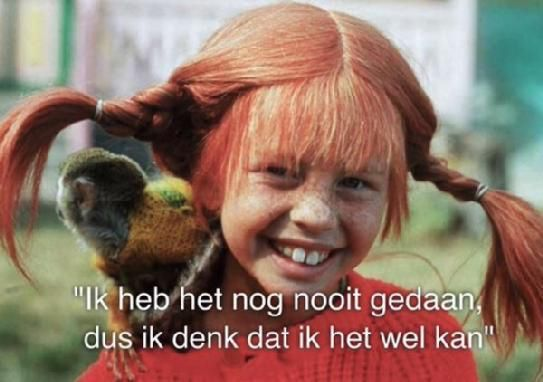 I have no idea what this says, but I LOVED Pippi Longstocking!!