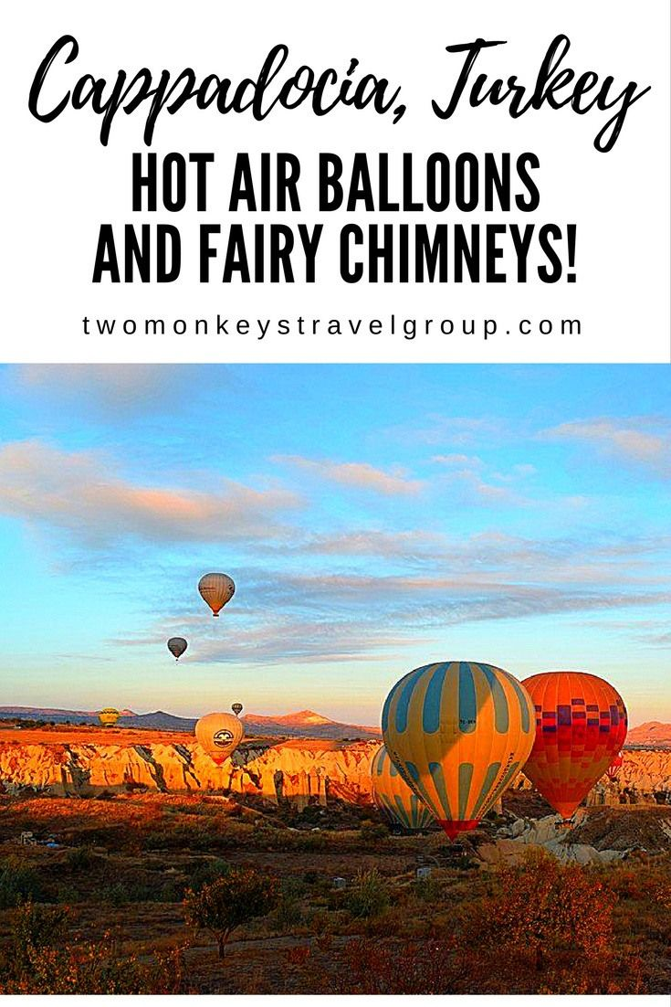 Cappadocia, Turkey - Hot Air Balloons and Fairy Chimneys!