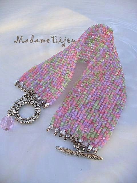madame bijou - this one has fringe on the end