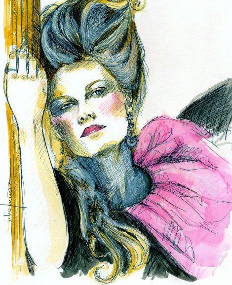 """""""María Antonieta"""" se rodo en el año 2006 con Kirsten Dunst como protagonista absoluta. Trata sobre la vida y peripecias de la malograda Reina de Francia, María Antonieta."""