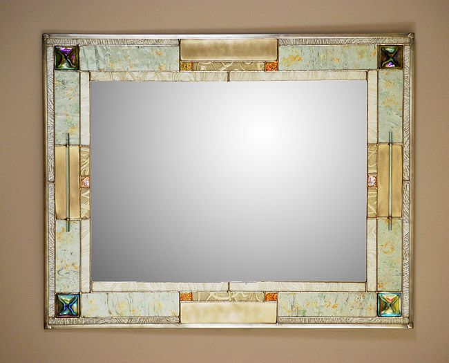 Stained Gl Mirror