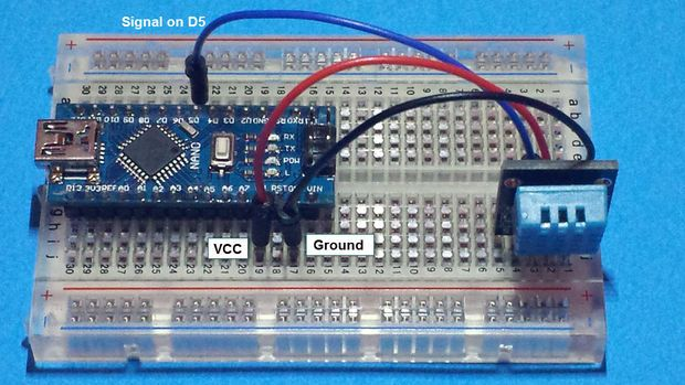 How to display temperature and humidity using an arduino