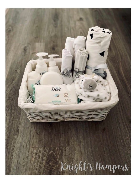 Luxury Baby Gift Hamper Baskets Perfect For Baby Showers Welcome Gifts Christenings And Many More In 2020 Baby Gift Hampers Baby Shower Gift Basket Luxury Baby Gifts