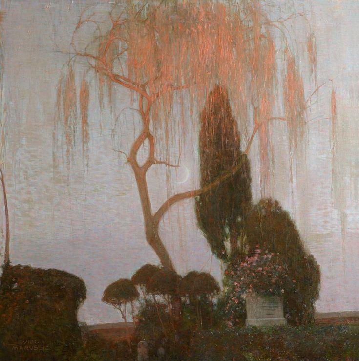 Guido Marussig - Salice piangente - 1907 - Arquà Petrarca, Galleria Copercini e Giuseppin
