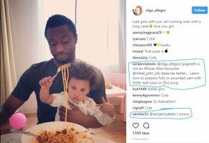 No Fufu! No Pounded Yam  Mikel Obis Russian Girlfriend