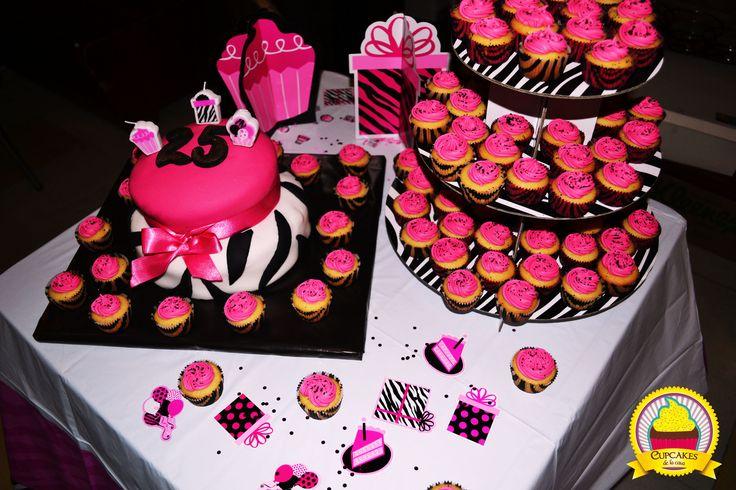 Una combinación entre lo dulce y lo salvaje. ¡Perfecto! by cupcakes de la casa