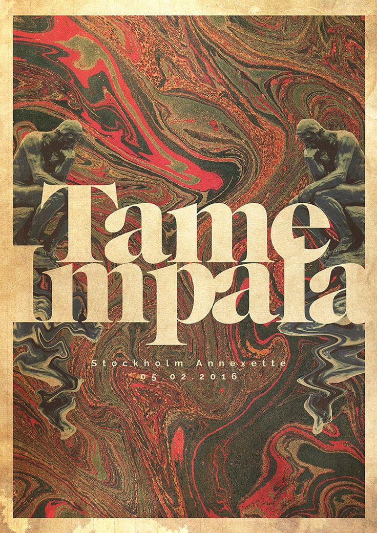 Tame Impala Gig poster 0 http://jrstudioweb.com/diseno-grafico/diseno-de-logotipos/