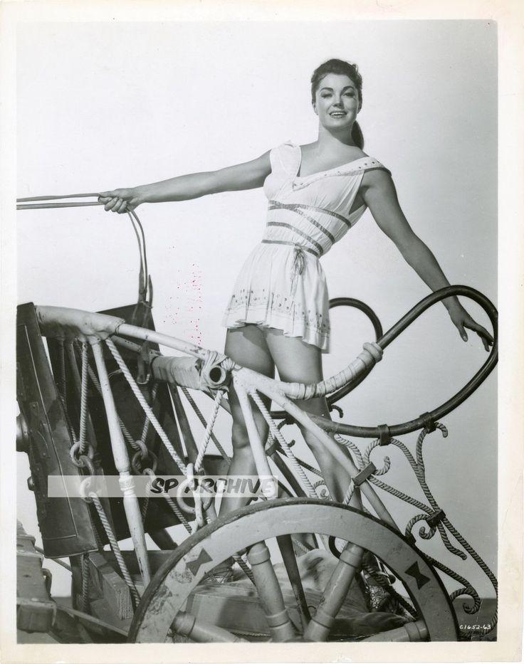 1954 RARE Original Photo LOVELY ACTRESS ESTHER WILLIAMS mini-dress CROTCH SHOT