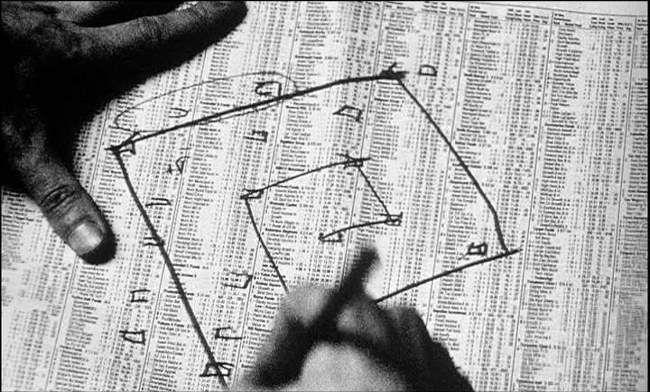 """Aranofsky's """"Pi"""". Mercifully not pinning the drill scene."""
