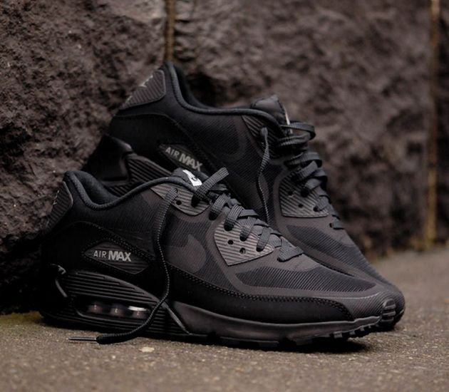 "Nike Air Max 90 Tape ""Reflect"" – Black / Metallic Silver"