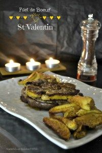 Beef Fillet Rossini with Two Apples