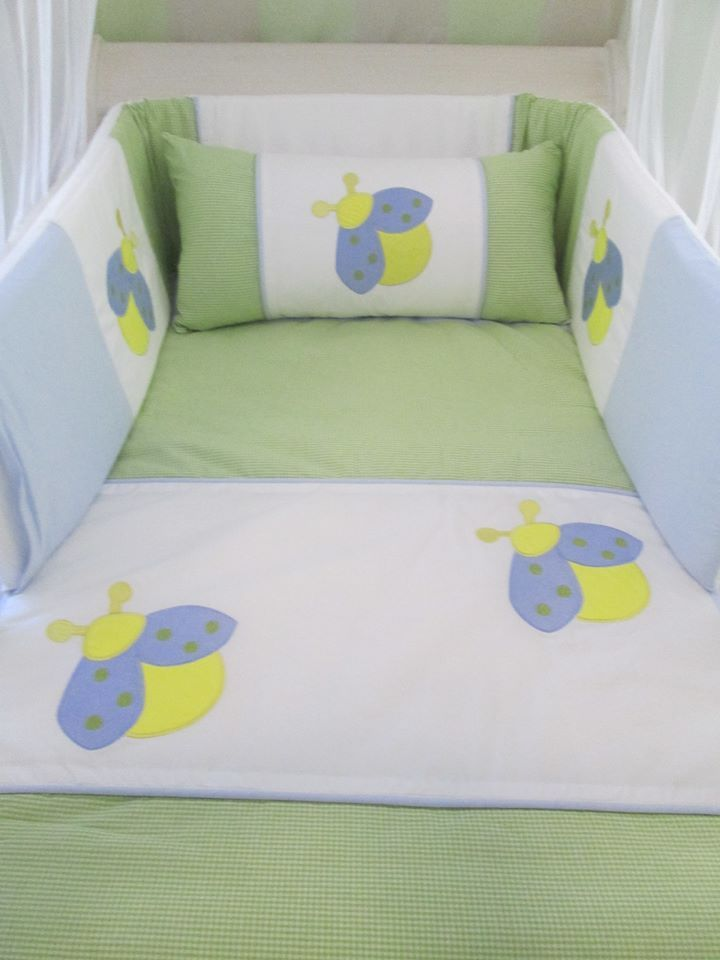 Insects quilt set, exclusively manufactured in South Africa. To order orders@borderboutique.co.za.