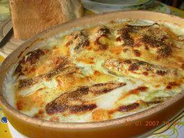 Chicory/Witlof  With Gruyere and Ham