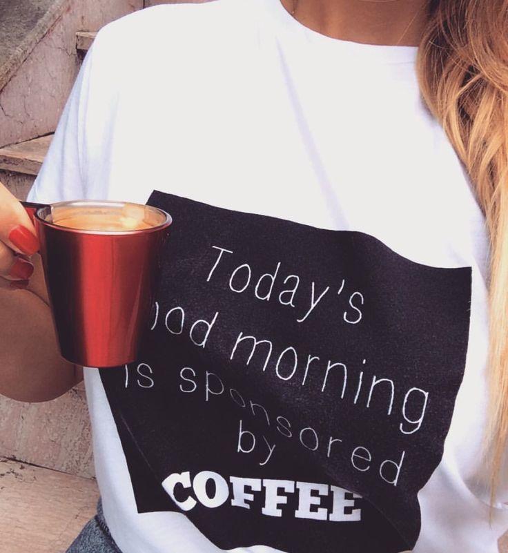 Coffee tshirt