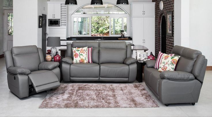 Featuring 3 Action Recliner Chairs And Modern Design Lines The Carolina Will Stand Proud In Any Living Room